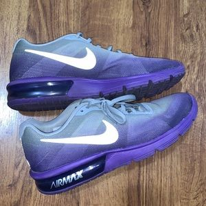 Nike air max glow in the dark running shoes!